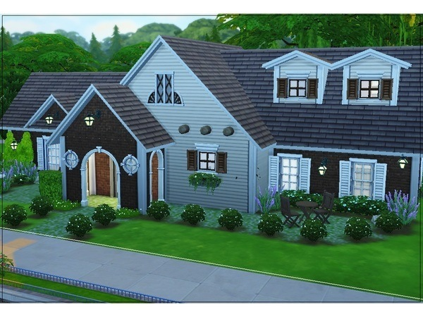 Sims 4 Hallow Circuit home by Jaws3 at TSR