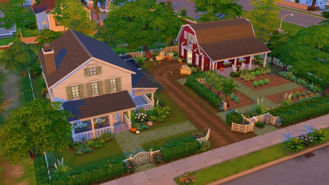Aunt Jo S Farm At Jenba Sims 187 Sims 4 Updates