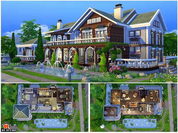 Villa Vanida by autaki at TSR image 148 Sims 4 Updates