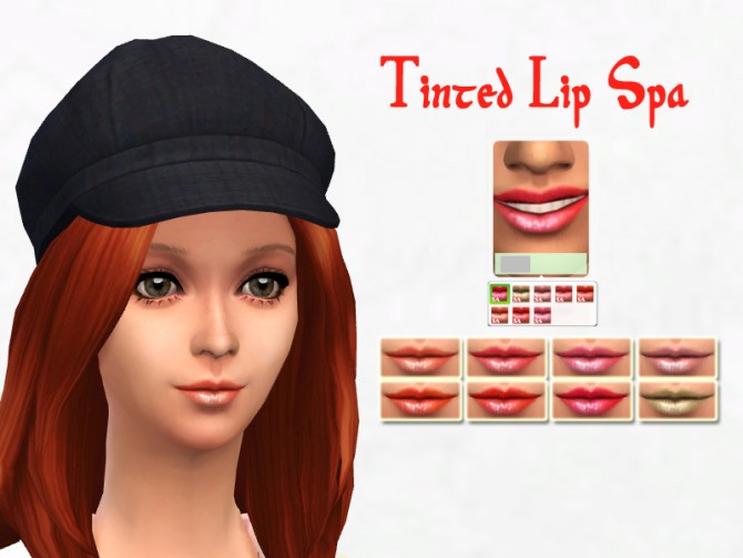 Lipstick in 8 colors at Sakura image 1481 Sims 4 Updates