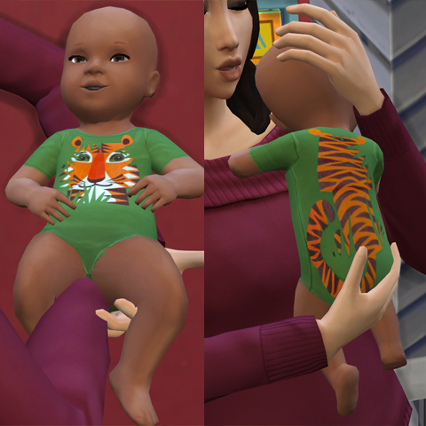 10 Baby Outfits by bienchen83 at Mod The Sims » Sims 4 Updates