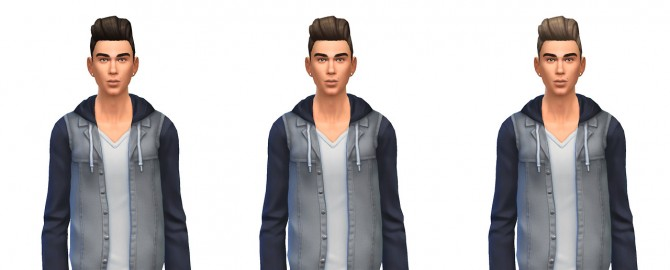 Pompadour retro hair recolors at Busted Pixels image 1516 Sims 4 Updates