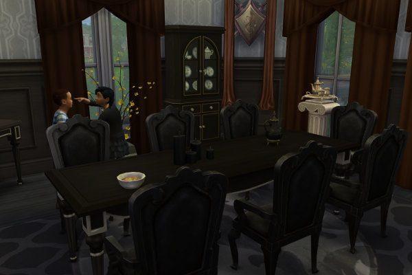 the addams family housesatureja at blacky's sims zoo » sims 4