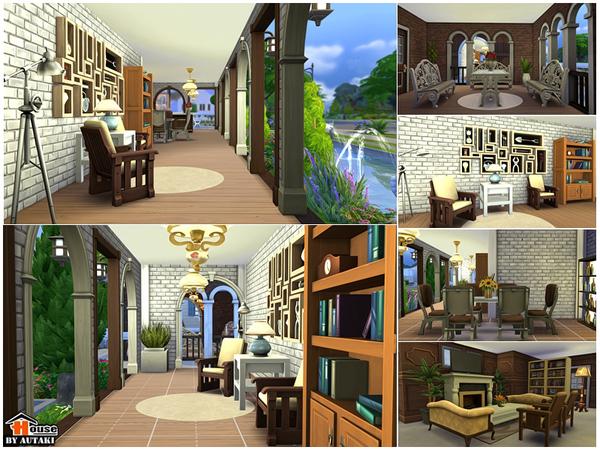 Villa Vanida by autaki at TSR image 155 Sims 4 Updates