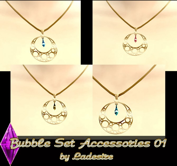 Sims 4 Bubble Set Accessories 01 at Ladesire