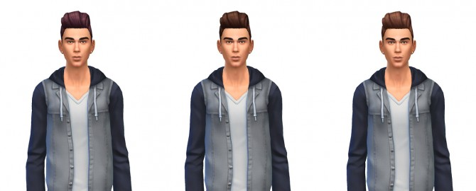 Pompadour retro hair recolors at Busted Pixels image 1613 Sims 4 Updates