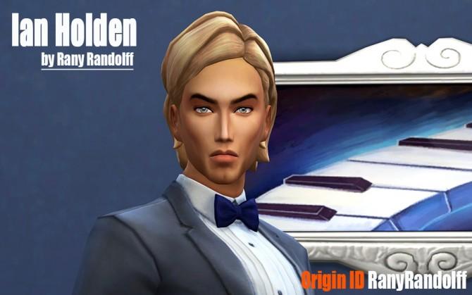 Sims 4 Ian Holden by Rany Randolff at ihelensims
