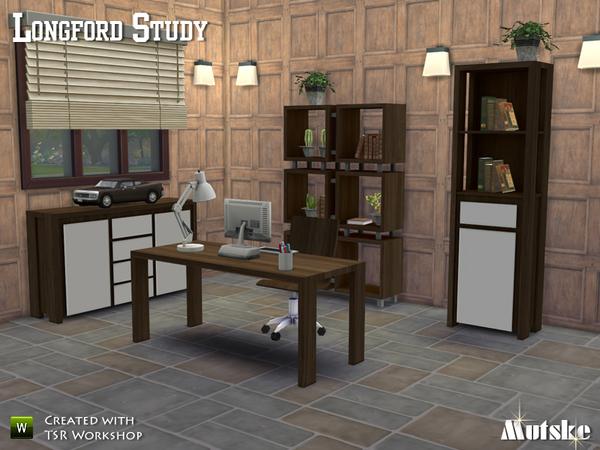 Longford Study by Mutske at TSR image 1701 Sims 4 Updates