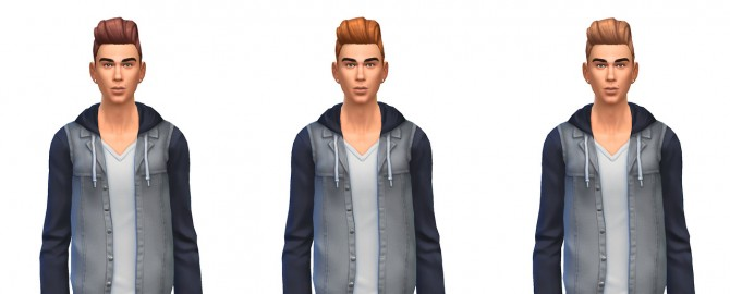 Pompadour retro hair recolors at Busted Pixels image 1712 Sims 4 Updates