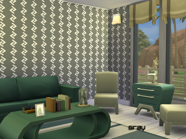 Zig Zag Walls by Degera at TSR image 1719 Sims 4 Updates