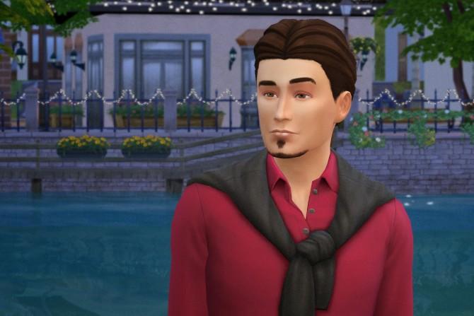 Sims 4 Walter Blackwood by Melissa Sims 4