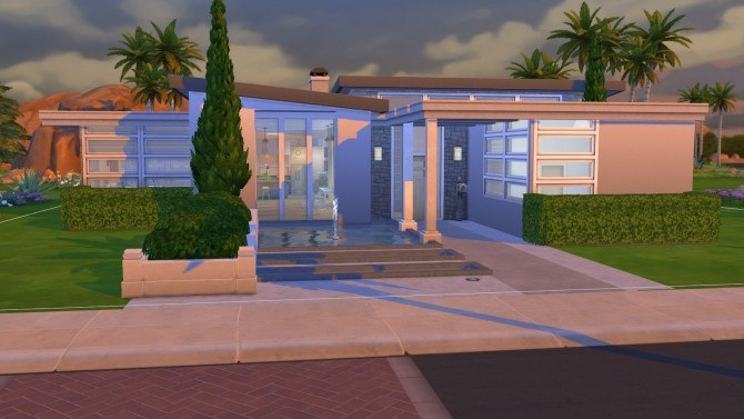 Serenity Modern house at Simply Ruthless image 1761 Sims 4 Updates