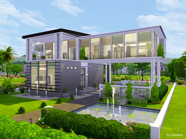 Panorama house by Lhonna at TSR image 1791 Sims 4 Updates
