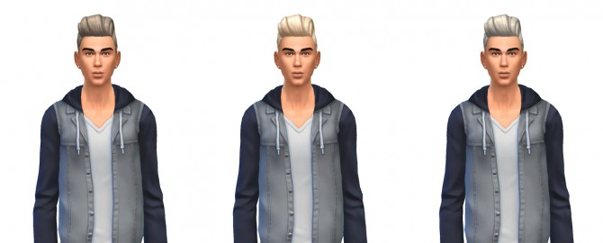 Pompadour retro hair recolors at Busted Pixels image 1812 Sims 4 Updates