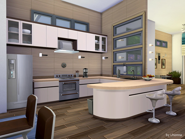 Panorama house by Lhonna at TSR image 18131 Sims 4 Updates