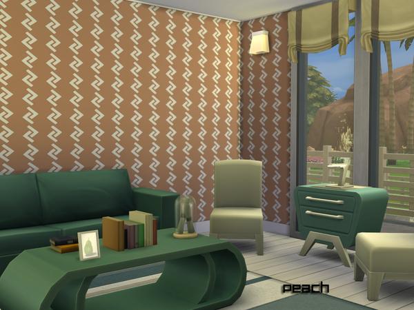 Zig Zag Walls by Degera at TSR image 1819 Sims 4 Updates