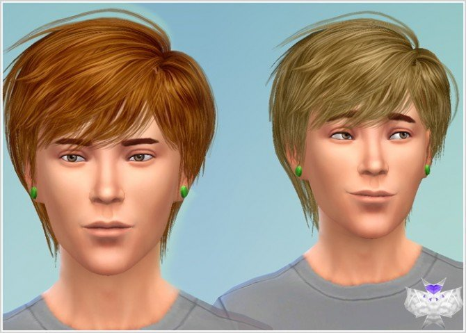 Roy Hair for males converted at David Sims image 1881 Sims 4 Updates