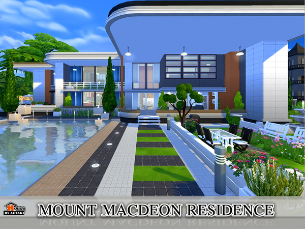 Mount Macdeon Residence by Autaki at TSR image 2024 Sims 4 Updates