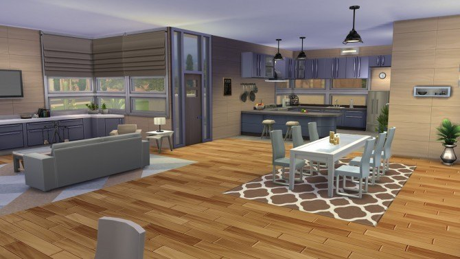 Serenity Modern house at Simply Ruthless image 2091 Sims 4 Updates