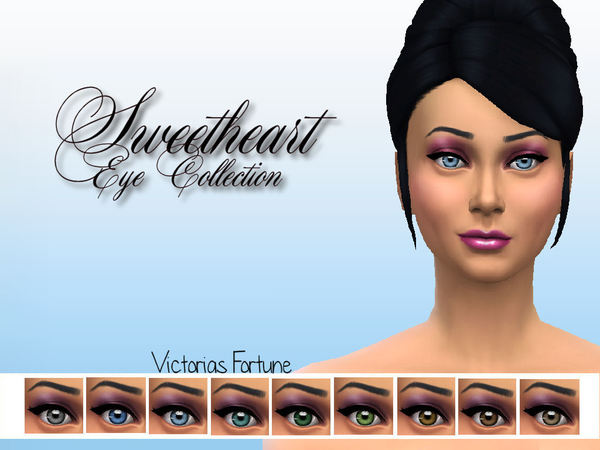 Victorias Fortune Sweetheart Eye Collection at TSR image 2110 Sims 4 Updates