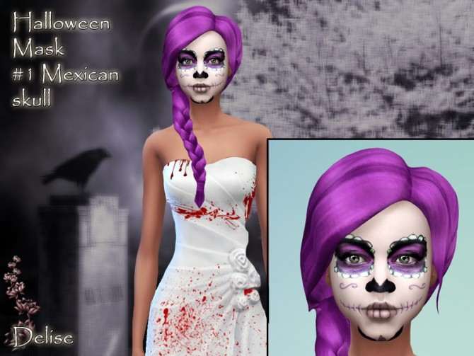 HALLOWEEN masks by Delise at Sims Artists image 21141 Sims 4 Updates