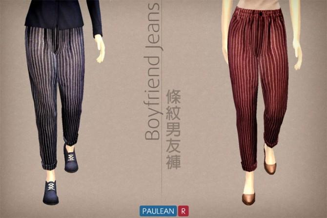 Sims 4 Boyfriend jeans at Paulean R