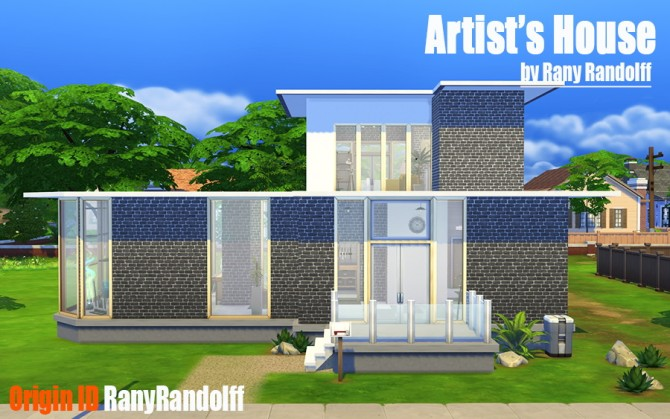 Artists House by Rany Randolff at ihelensims image 2120 Sims 4 Updates
