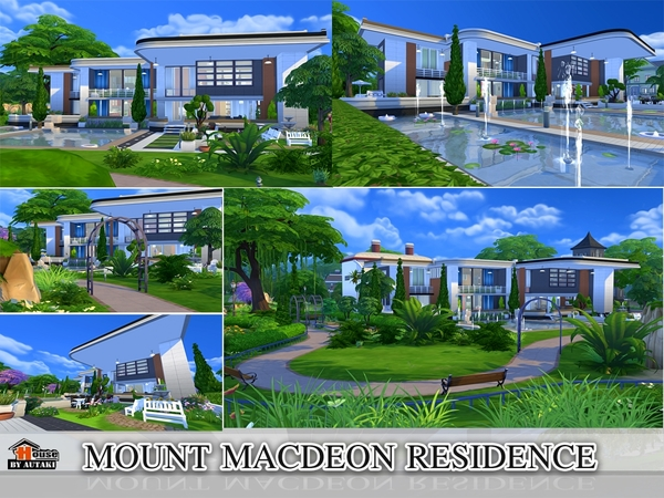 Mount Macdeon Residence by Autaki at TSR image 2134 Sims 4 Updates