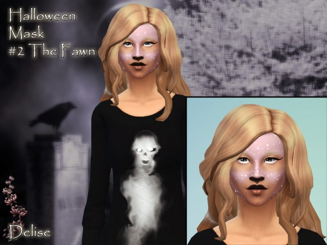 HALLOWEEN masks by Delise at Sims Artists image 22111 Sims 4 Updates