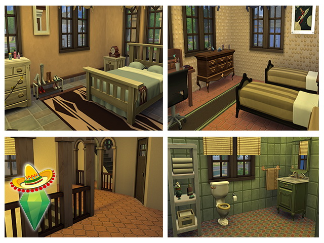 Mexican Residence by m13 at Sims Fans image 222 Sims 4 Updates