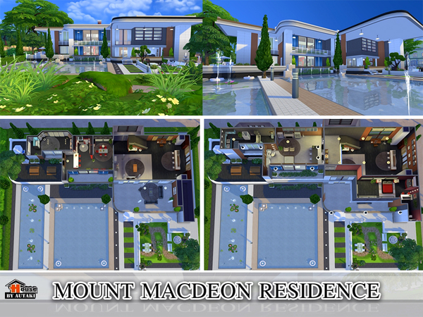 Mount Macdeon Residence by Autaki at TSR image 2225 Sims 4 Updates