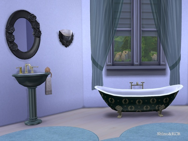 Elegant Bathroom by ShinoKCR at TSR image 2251 Sims 4 Updates