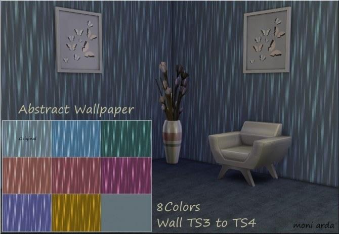 Sims 4 Abstract Wallpaper by Moni at ARDA