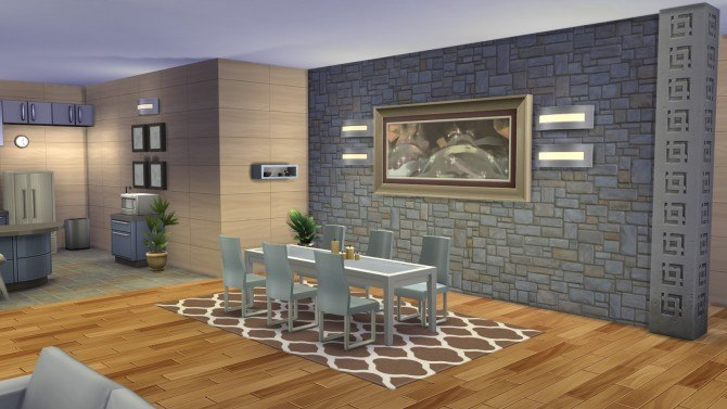 Serenity Modern house at Simply Ruthless image 2281 Sims 4 Updates