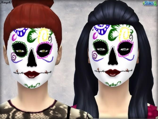 Dia De Los Muertos Inspired Makeup at Sims Addictions image 229 Sims 4 Updates