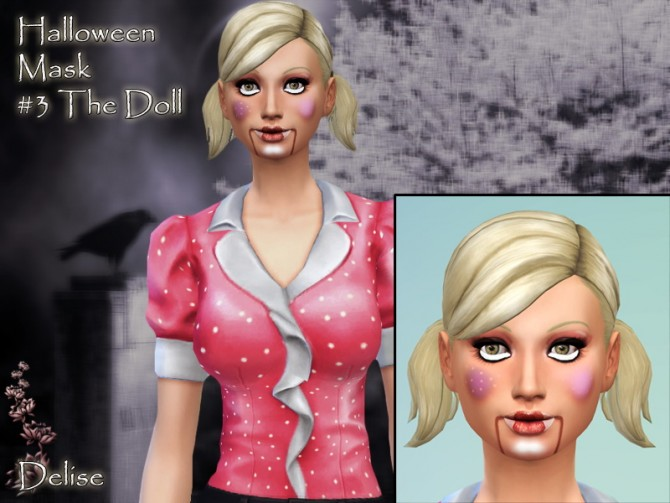 HALLOWEEN masks by Delise at Sims Artists image 23101 Sims 4 Updates