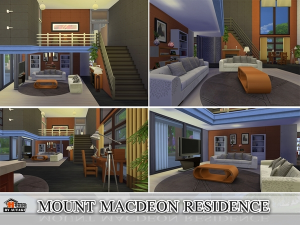 Mount Macdeon Residence by Autaki at TSR image 2325 Sims 4 Updates