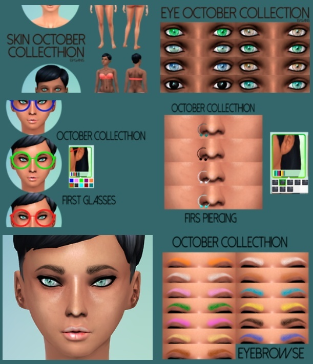 October Collection at Evgans image 2371 Sims 4 Updates