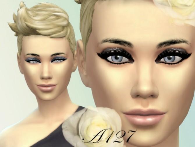Sims 4 Shining Eyeshadow at Altea127 SimsVogue