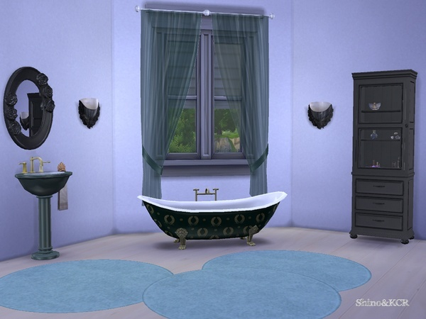 Elegant Bathroom by ShinoKCR at TSR image 2471 Sims 4 Updates