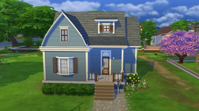 Willow creek starter at simply ruthless sims 4 updates for Willow creek mansion