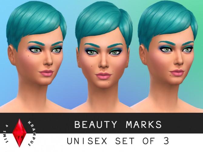 Sims 4 Beauty mark set at Sims 4 Krampus