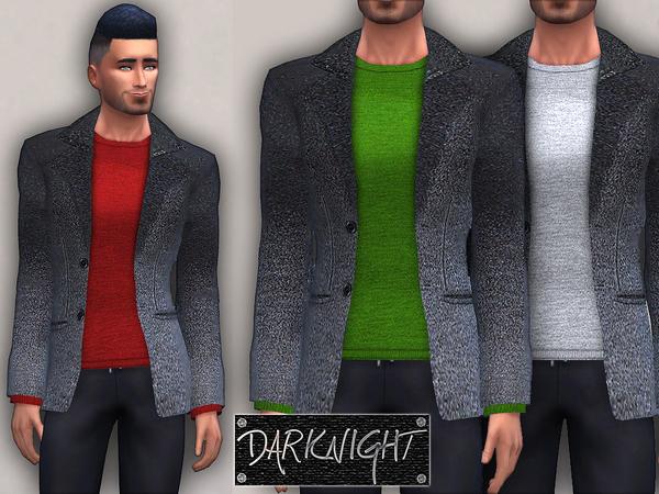 Sims 4 Wool Pullover and Blazer by DarkNighTt at TSR