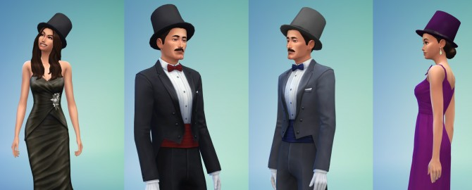 Tophats for gentlemen and ladies by count cosmos at Mod The Sims image 2814 Sims 4 Updates
