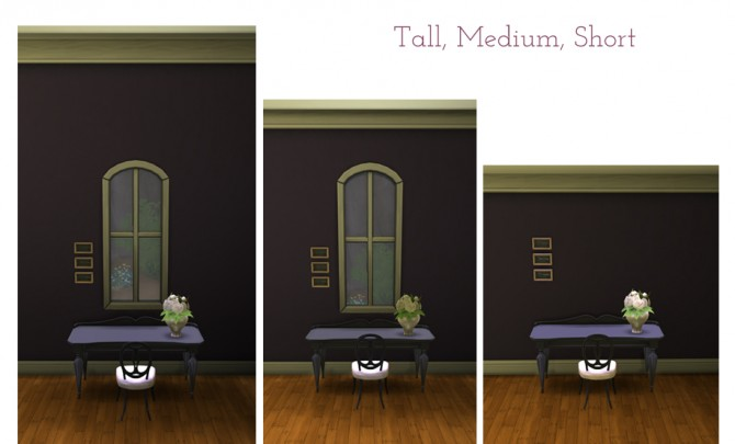 Sims 4 Ive Been Framed Wall recolors by SaudadeSims at Mod The Sims
