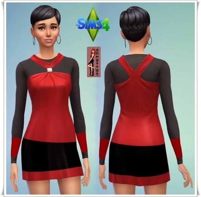 Sims 4 Bella Shirt Dresses at Annett's Sims 4 Welt
