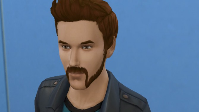 Motorbiker beard mustache and muttonchops by necrodog at Mod The Sims image 2925 Sims 4 Updates