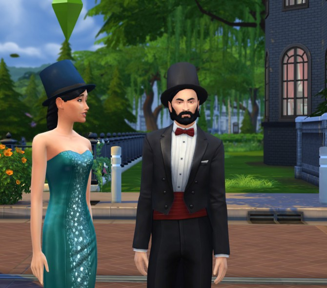 Tophats for gentlemen and ladies by count cosmos at Mod The Sims image 3021 Sims 4 Updates