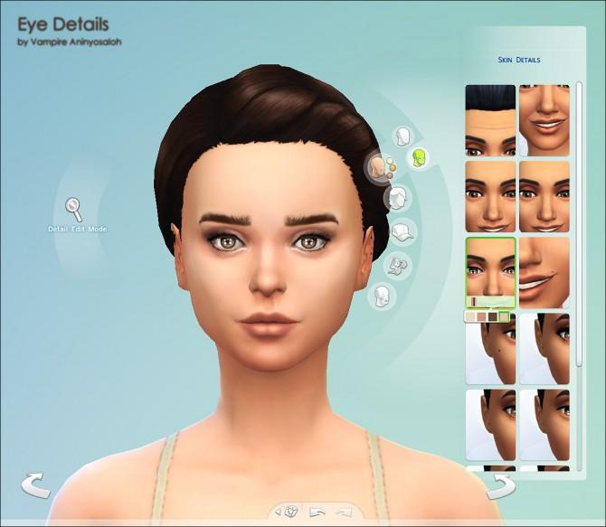 Eye contour + eyelashes by Vampire aninyosaloh at Mod The Sims image 305 Sims 4 Updates