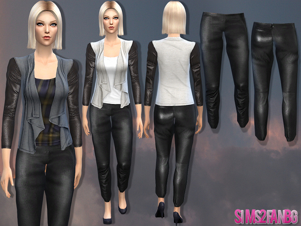 Sims 4 Female fall set 07 by sims2fanbg at TSR